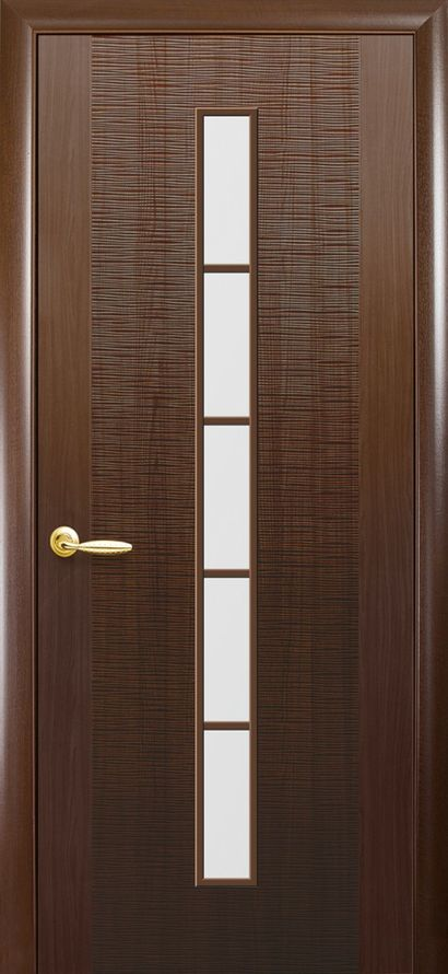Двери Новый Стиль Дюна 1S каштан