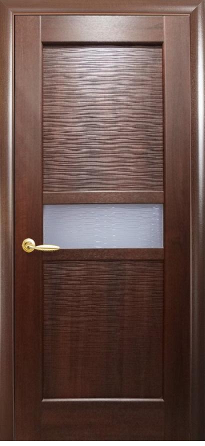 Двери Рифма каштан Новый Стиль